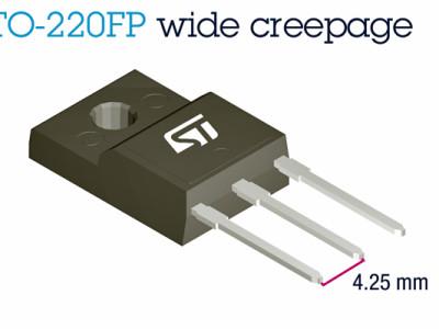 MOSFET's >1 kV hebben een bredere TO-220-behuizing nodig