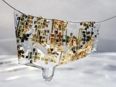 Biologisch afbreekbare elektronica