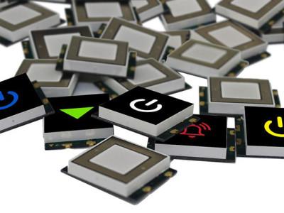 Kleine Touch-LED-sensordisplays