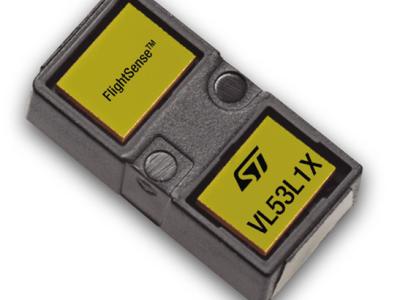 Time-of-Flight-sensor haalt een bereik van 4 m