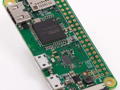Nieuwe Raspberry Pi (Zero W) met WLAN en Bluetooth voor € 10