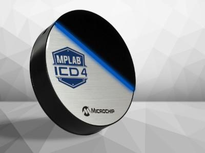 Nieuwe in-circuit debugger ICD 4 voor Microchip's MPLAB