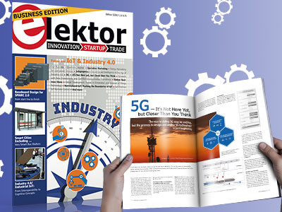 """Elektor Business Magazine 2-2018 """"Industry 4.0 and automation"""""""
