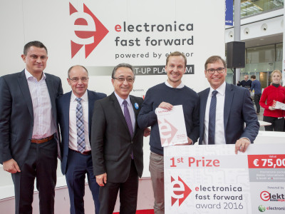 Neem deel aan electronica Fast Forward, the startup platform powered by Elektor