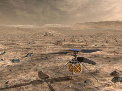 NASA stuurt helikopter naar Mars