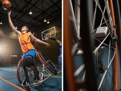 Met sensoren rolstoelprestaties meten