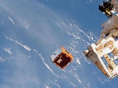 Stofzuigen in de ruimte