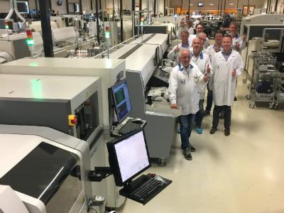 Nieuwe productielijn operationeel