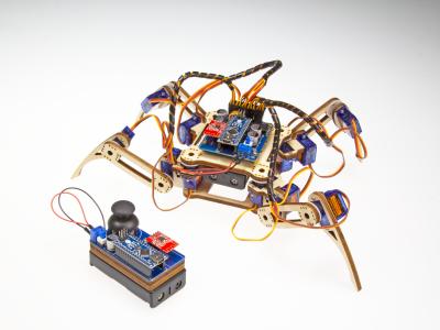 Review: SunFounder Remote Control Crawling Quadruped Robot V2.0