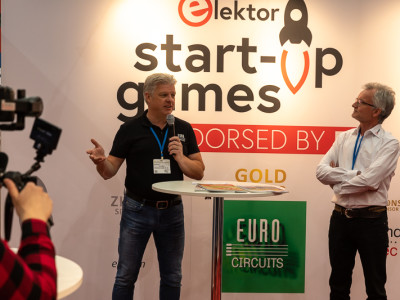 Eurocircuits doet verslag van de Elektor Start-Up Games