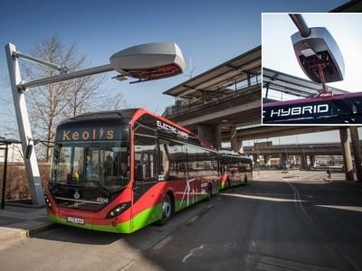 Hybride elektrische bus in 6 minuten opgeladen
