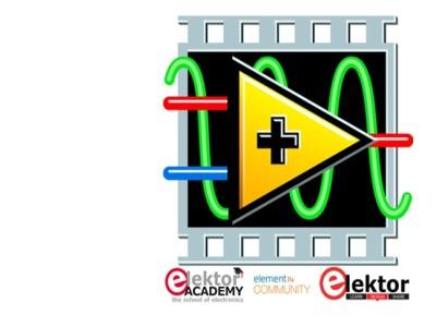 Volgende Elektor/element14 Webinar: Analog Circuit Design in LabVIEW