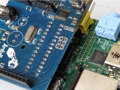 Arduberry: Arduino-shields op Raspberry Pi