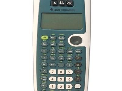 Sprekende wetenschappelijke calculator
