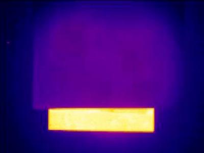 Folie van kevlar verbergt warme objecten