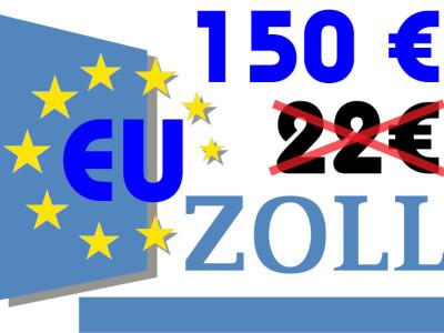 Nieuwe douanegeregels: BTW-vrijstelling voor zendingen ≤ 22 € vervalt