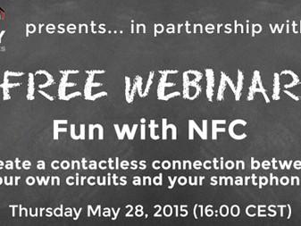 Elektor-webinar: Fun met NFC