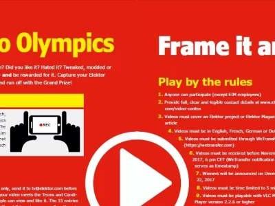 Elektor's Video-Olympiade: de deadline nadert!