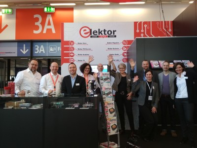 Elektor op Embedded World 2019
