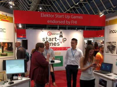 Video: de Elektor Start-up Games 2019 kort in beeld gebracht