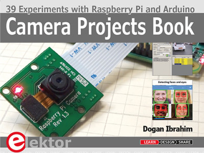 Camera Projects Book: 39 Experimenten met Raspberry Pi en Arduino
