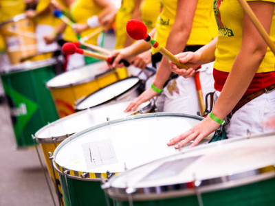 Post Project 58: Carnaval-drumlicht