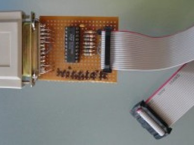 Figure 3. Our Wiggler built on prototyping board.
