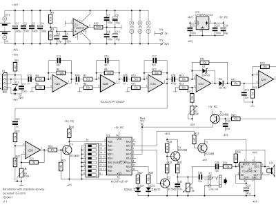 Schematic of the bat detector (150346-1 v1.1)