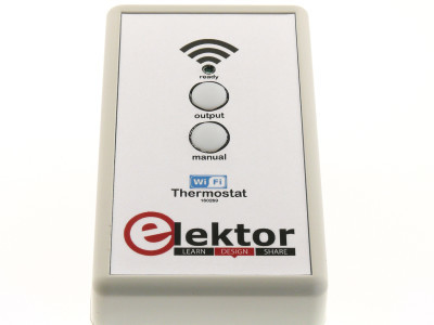 Wi-Fi controlled switch/thermostat/timer