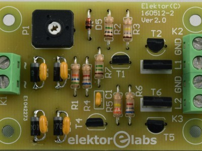 Top view Baristor PCB 160512-2 v2.0 modified for v2.1
