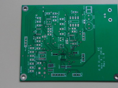 This is the unpopulated analog board.