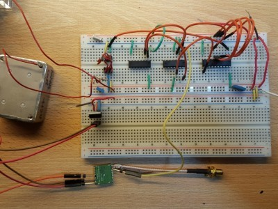First attempt on a breadboard