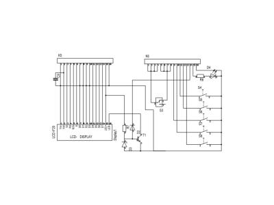 Diagram - secondary board / Schéma du circuit secondaire