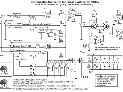 Image 4: Exponential converter circuit