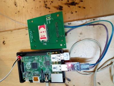 Raspberry Pi SMS server