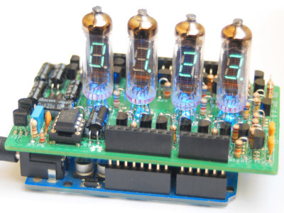 IV-3 VFD shield for Arduino PCB