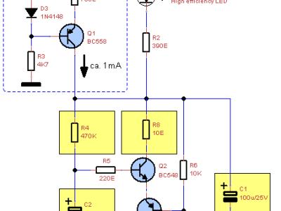 Configuration 2: light house flash