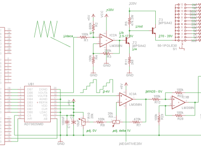 Circuit diagram (without supplies)