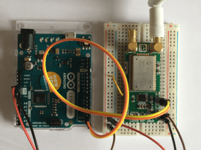 Node (IoT projet) : Arduino and module Lora
