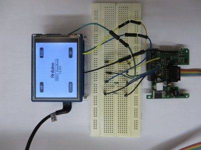 OBD2 for Arduino Prototype
