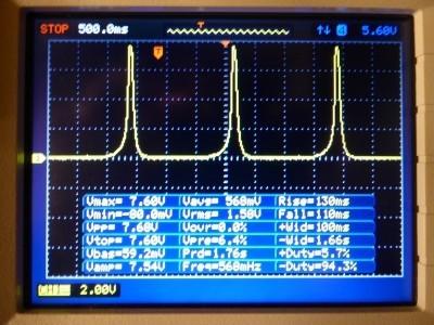 Configuration 2 : Voltage over R2