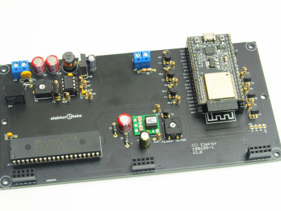 Main PCB with ESP-32-DevKitC module