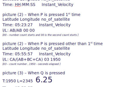 view of speedometer
