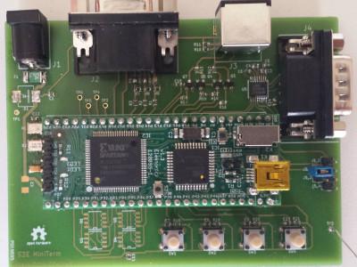 VGA autonomous console