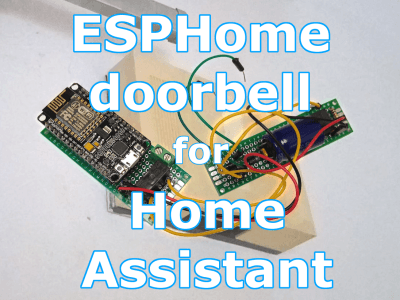 How-To: Integrate Your Doorbell in Home Assistant Using ESPHome