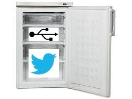 Tweeting freezer [130149-I]