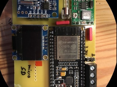 ESP32 GPS Car Logger