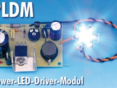 Dimmer für Power-LED-Driver-Modul (PLDM, Elektor 12/2008)