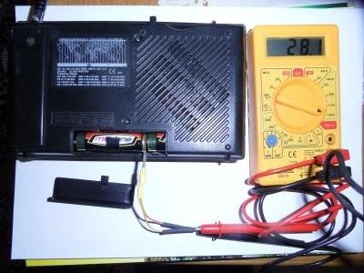 Simple Battery Probe