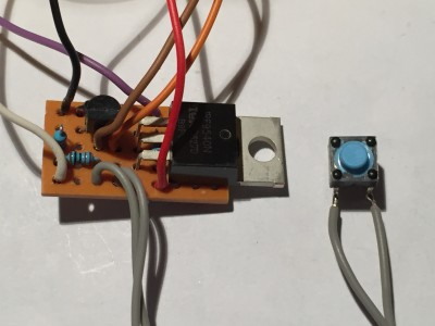 On/Off Button for Arduino; switching off software controlled